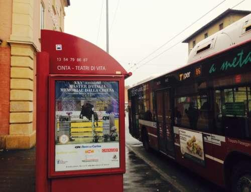 "Fermata bus ""Teatri di Vita"""