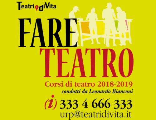 Il nuovo corso di teatro di Teatri di Vita